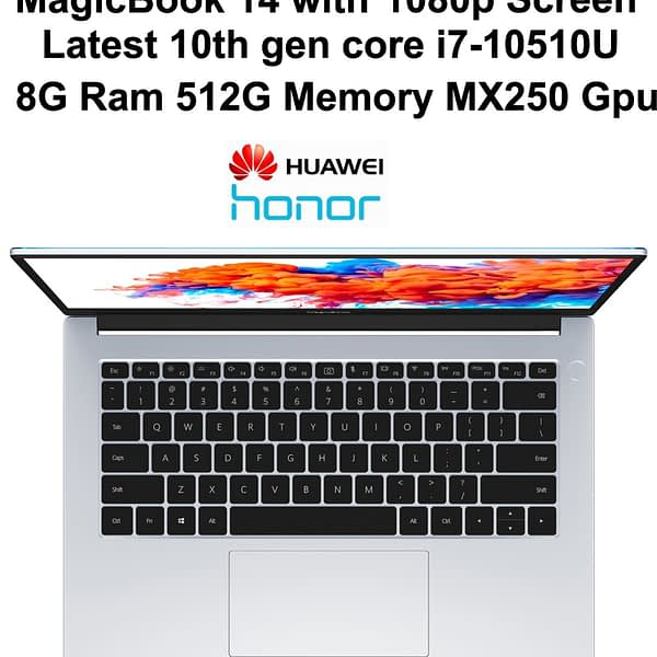 High Quality Laptop HUAWEI HONOR MagicBook Notebook PC 14 Inch FHD Matte Display With 7nm AMD R7 4700U 16GB DDR4 Ram 512GB