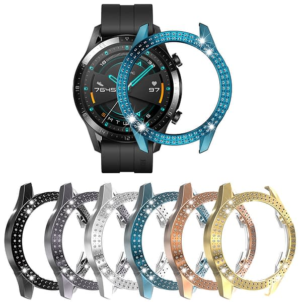 Bakeey PC Crystal Watch Case Cover Screen Protector for Huawei GT2 46MM Smart Watch