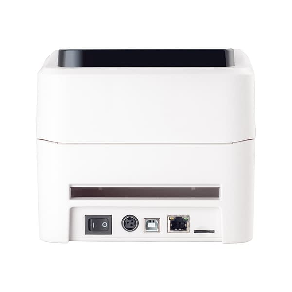 152mm/s Thermal Shipping Label Printer Barcode Printer for Thermal Label Paper Width Between 25-115mm Support QR CODE
