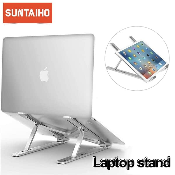 Portable Laptop Stand Foldable Laptop Holder for Macbook Pro Air Adjustable Multi-Angle Laptop Holder for DELL HP Lenovo Xiaomi
