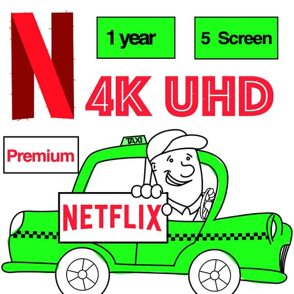 4K Netflix Instant Delivery 5 screen tv Global available 100% stable TV android set top box tv stick laptop PC phone UHD Spotify