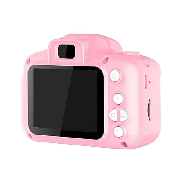 2 Inch HD Sn Chargable Digital Mini Camera Kids Cartoon Cute Camera Toys Outdoor Photography Props for Child Birthday Gift