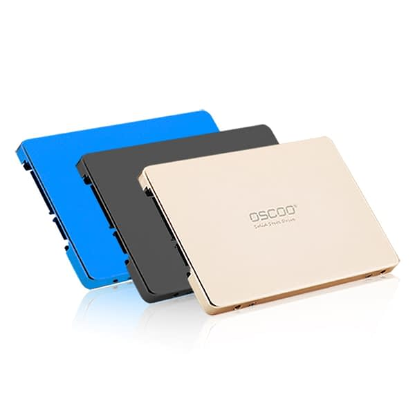 Oscoo Brand 2.5 Inches 120GB 128GB Internal Sata SSD Hard Drive Full Capacity Extended Solid State Disk