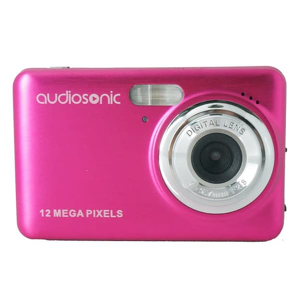 12mp Digital video camera with 2.7'' TFT display and 4x digital zoom