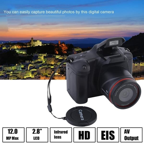 16 Million Pixel Home Small SLR Digital Camera Outdoor Photography Tool HD 1080P 2.4 Inch 16MP 16X Zoom LCD Camcorder