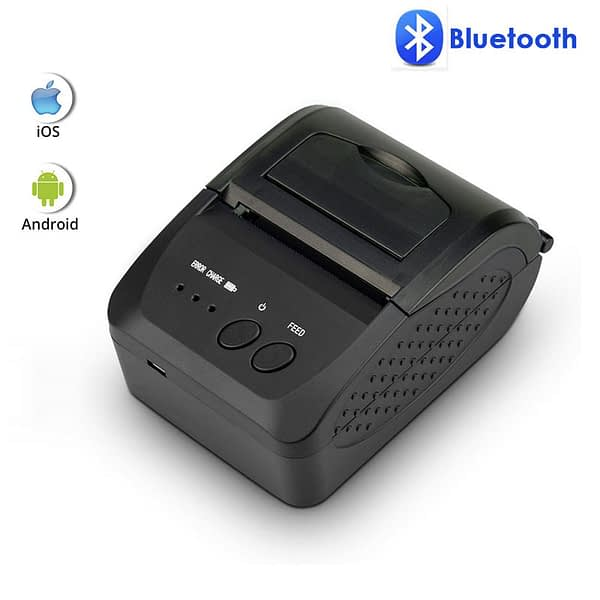 NETUM 1809DD Portable 58mm Bluetooth Thermal Receipt Printer Support Android /IOS AND 5890K USB Thermal Printer for POS System