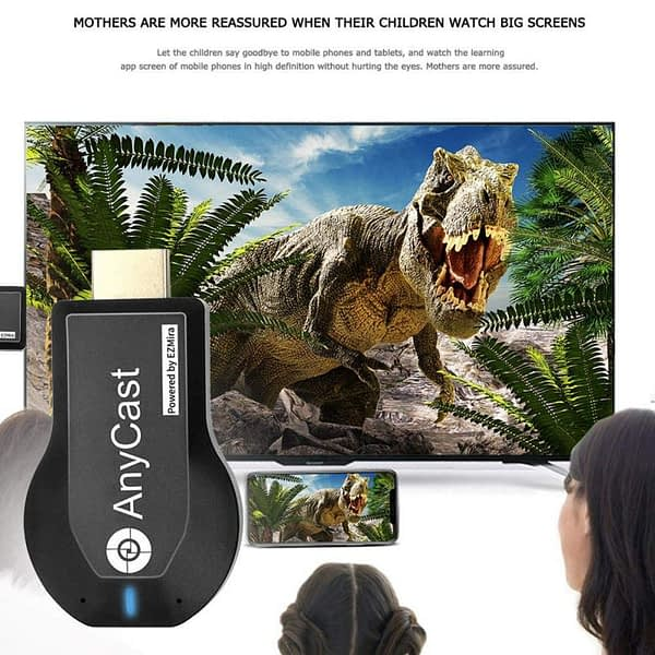 128M Anycast M2 Plus Ezcast Wireless WiFi Display Dongle Receiver Miracast AirPlay Chrome AnyCast HDMI TV Stick For ios Andriod