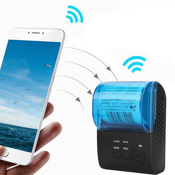 USB Serial 5805DD Bluetooth Thermal Printer for Android System With Battery 110-240V Thermal Printer