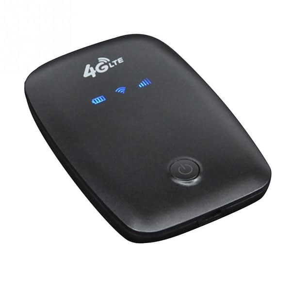 4G LTE Mobile WiFi Wireless Router Hotspot LCD Displa Supports 10 Users Portable Router Modem for Car Home Mobile Travel Camping