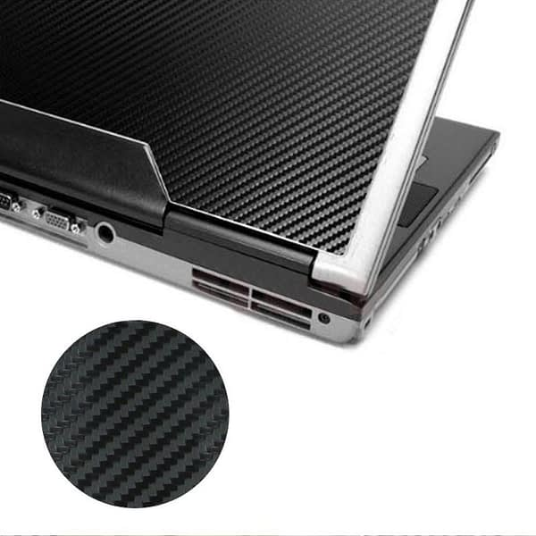 """3D Carbon Fibre Skin Decal Wrap Sticker Case Cover For 17"""" PC Laptop Notebook Y3ND"""