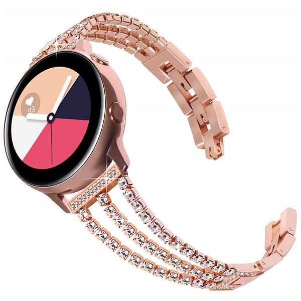 Bakeey Crystal Full Metal Watch Strap for Samsung Galaxy 42mm/46mm Smart Watch