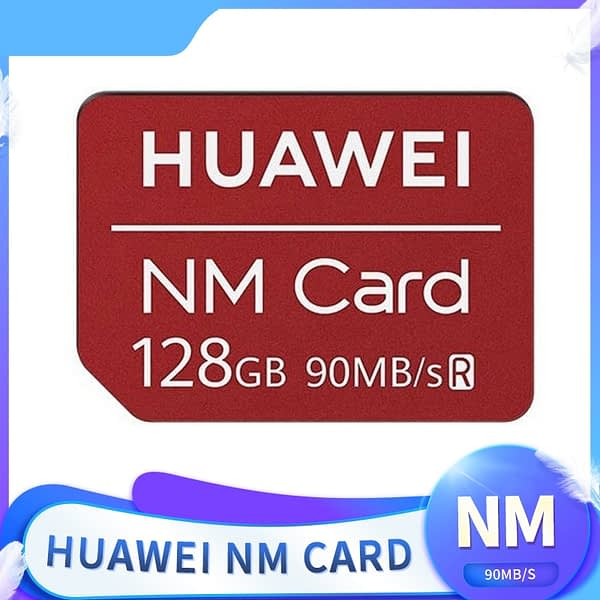 90MB/s 128GB NM Card Apply to Mate20 Pro Mate20 X P30 With USB3.1 Gen 1 Nano Memory Card