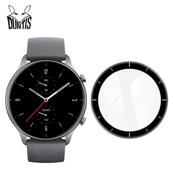 20D Curved Edge Protective film For Xiaomi Amazfit GTR 2 / 2 Sport / 2E Smart watch Soft Screen Protector Accessories (Not Glass