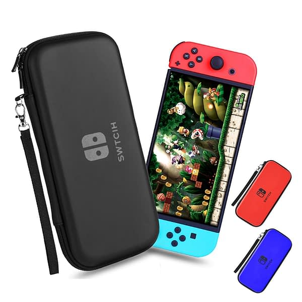 Nintend Switch Case Portable Waterproof Hard Protective Storage Bag for Nitendo Switch Nintendoswitch Console & Game Accessories