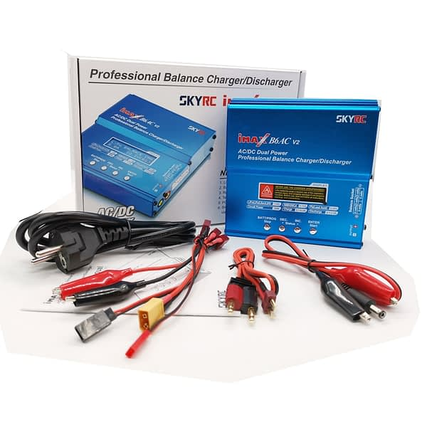 SKYRC iMAX B6AC V2 6A Lipo Battery Balance Charger LCD Display Discharger For RC Model Battery Charging Re-peak Mode