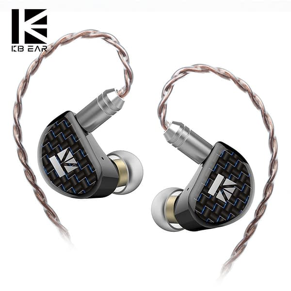KBEAR Believe 9mm Pure Beryllium Diaphragm 1DD In Ear Earphone With 0.78mm Gold Plated 2 Pin 6N Single Crystal Copper Litz Cable