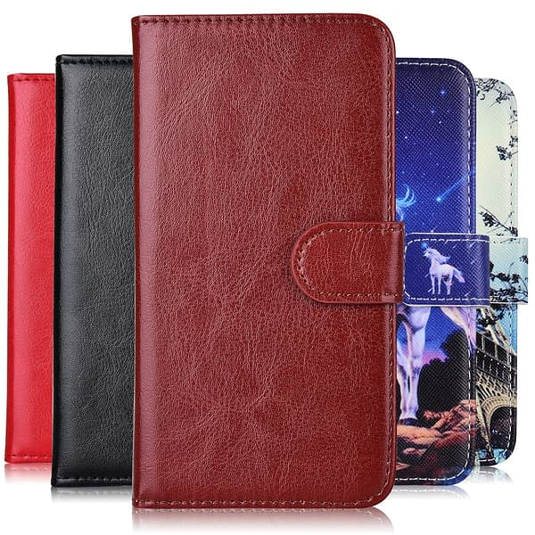 Coque For On Y3 2017 CRO-L02 CRO-L22 CRO-L03 CRO-L23 CRO-U00 Wallet Stand Flip Case For Huawei Y3 2017 Cute Capa Y32017 Cover