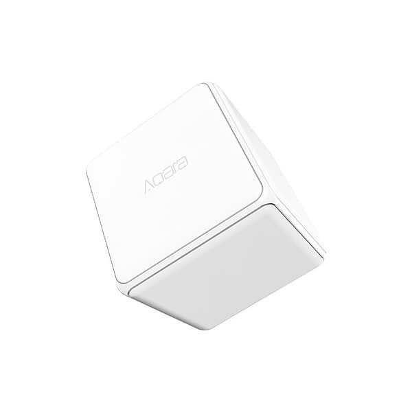 aqara Magic Cube Controller Zigbee Version Controlled Six Actions with Phone App for Smart Home Device TV Smart Socket
