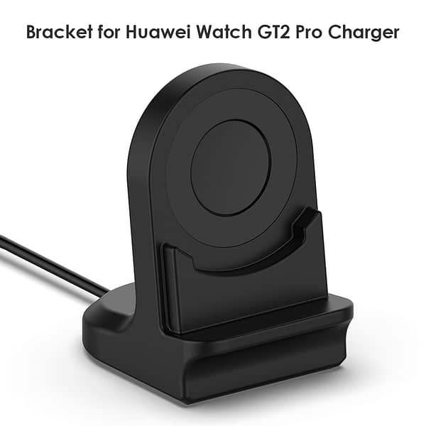 Silicone Charge Stand Holder for Huawei Watch GT2 Pro 2 Colors Charging Cradle Dock Station for Smartwatch Accessories