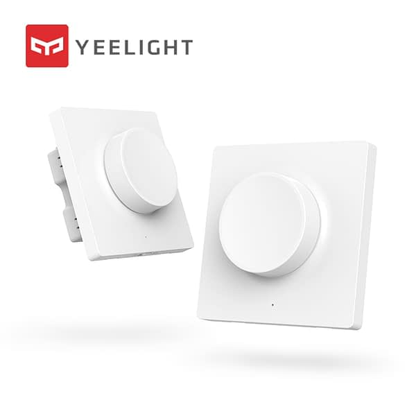 Yeelight Smart Dimmable Wall switch / Wireless switch For yeelight ceiling light pendant lamp remote control Dimmer