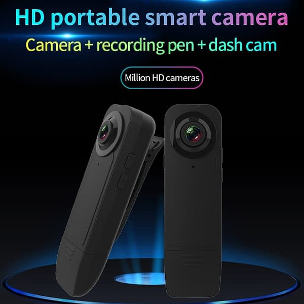 Pen Micro Cam Small Bicycle Webcam 1080P Mini Camera Pocket Body Video Record Night Vision Motion Detect Home Outside Camcorder