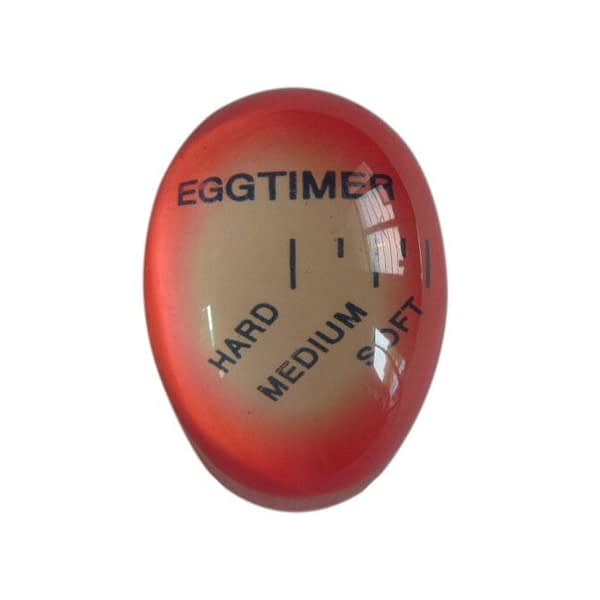 1 Color Changing Egg Timer Resin Material Perfect Boiled Eggs By Temperature Kitchen Helper Egg Timer Red timer tools