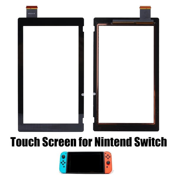 1 PCS Front Outer Lens LCD for Touch Screen Digitizer Replacement Part For Switch NS LCD for Touch Screen Digitizer