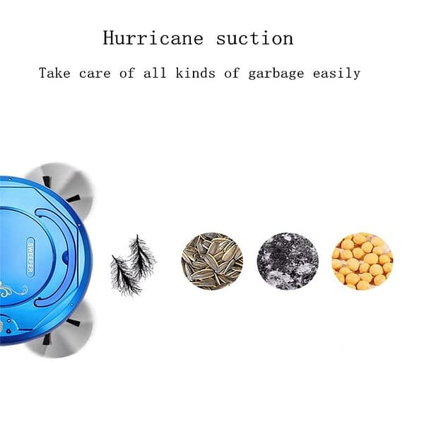 Robot Vacuum Cleaner Automatic Avoidance of Obstacles USB Charging Mopping &sweeping & Suction Type Vacuum Cleaner