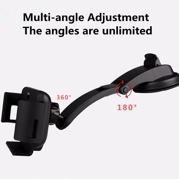 10W Qi Car Wireless Charger Auto Clampping for Samsung Fold Note 10 S10 IPhone X XR XS Max 11 Pro Max Huawei Mate X Phone Holder