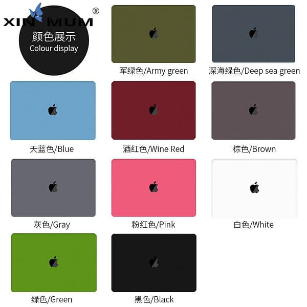 Ultra Slim Crystal/Matte Case for Apple MacBook Pro 16 inch A2141 Air 13 13.3 New Pro 13 15 Retina 15.4 Cover Laptop Hard Case