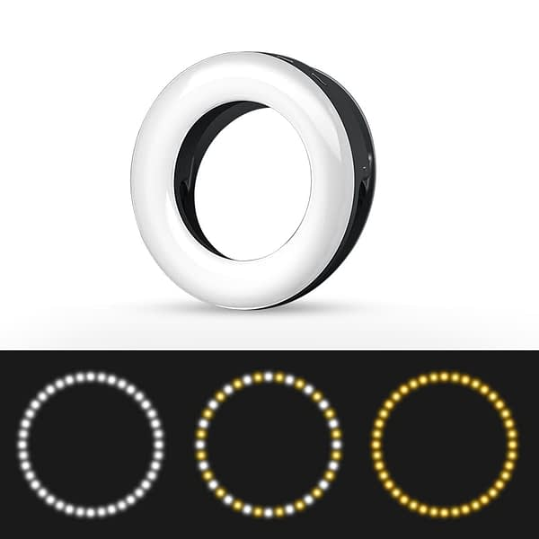 Photography Dimmable LED Selfie Light Photo Studio Lamp Ring Light Fill Light for iPhone Samsung Huawei Makeup Beauty Lighting