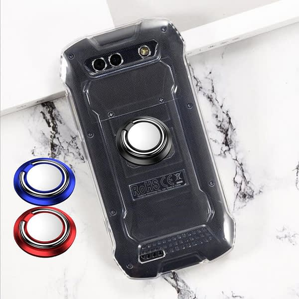 For Cubot KingKong Mini Cover Finger Ring Magnet Matte Protector Coque On For Cubot KingKong Mini 2 Phone Cover Couqe Funda