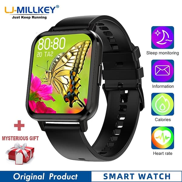 DTX smart watch Full Touch Screen reloj hombre smatch band montre connectee reloj smartwatch mujer Fitness Tracker relogio