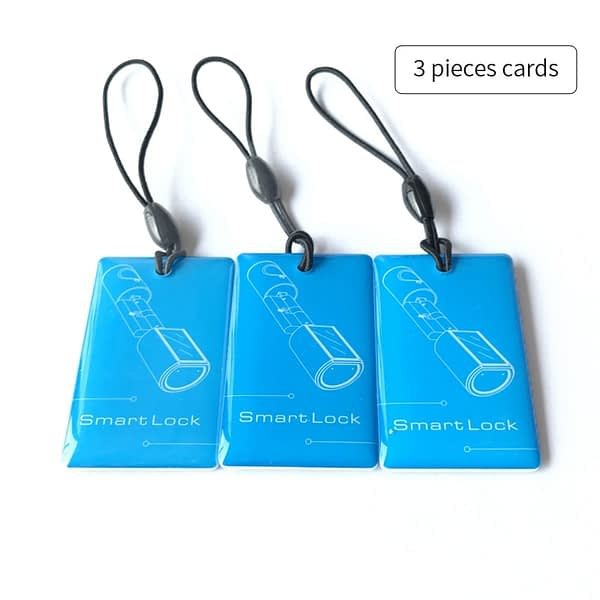 3 Pieces RFID Cards for Electronic Smart Cylinder Lock (L4PC-Plus)