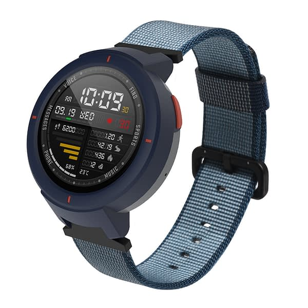 Bakeey Durable Canvas Nylon Replacement Watch Band for Xiaomi Amazfit Verge Smart Watch Non-original
