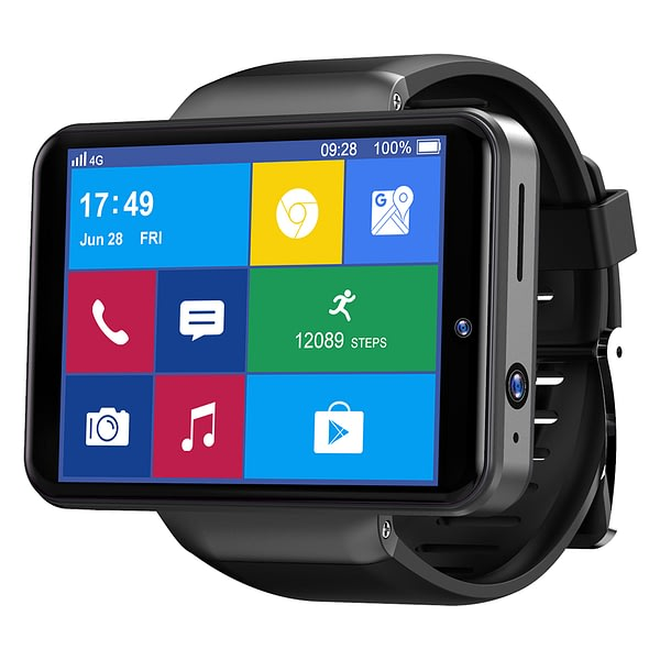 TICWRIS MAX S 2.4 Inch 640x480 Pixels 3G+32G 4G Watch Phone Dual Camera Face Unlock Life Assistant GPS Game Play Smart Watch