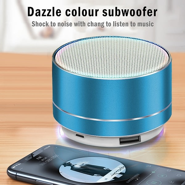 Wireless Bluetooth Speaker Portable Mini Rechargeable Music Audio TF Stereo Speaker for Outdoor/home Use Caixa De Som