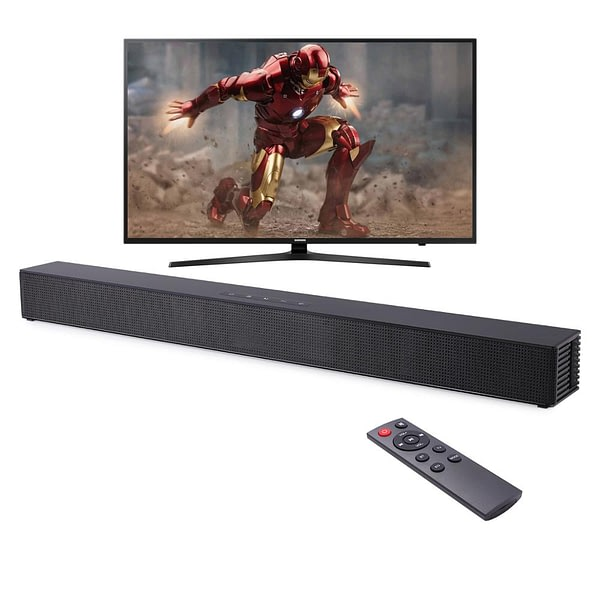 Wall-mounted TV Soundbar Home Theater 40W Bluetooth Speaker Support Optical HDMI Coaxial AUX Sound Bar With Subwoofer For TV PC