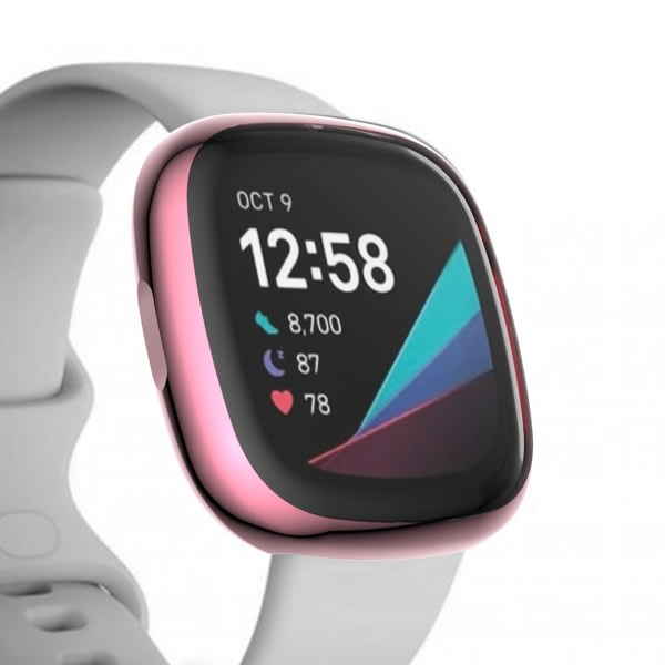Bakeey TPU Full Cover Watch Protector Case Cover for Fitbit Versa 3 Sense Smart Watch
