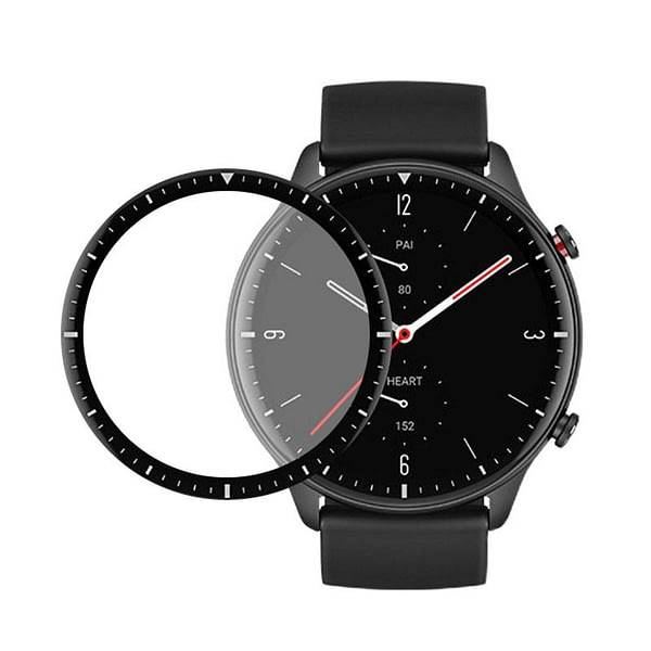 FIFATA 3D Curved / HD Clear TPU Full Coverage Screen Protector For Huami Amazfit GTR 2 GTR2 Smart Watch Protective Film Cover