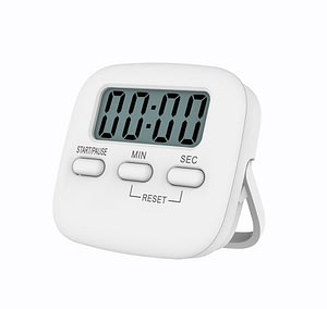 Baldr Large Magnetic LCD Digital Kitchen Countdown Timer Stopwatch Alarm with Stand Kitchen Timer Practical Cooking Alarm Clock