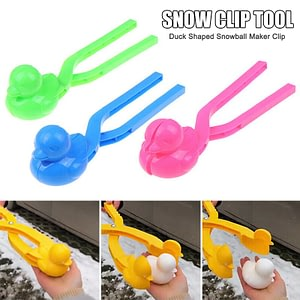 Economical Duck Shaped Snowball Maker Clip Children Outdoor Winter Snow Sand Mold Tool Toy Outdoor Fun & Sports