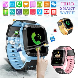 2020 Kids Smart Watch For Children's SOS Phone Watch Smartwatch With Sim Card Photo Waterproof IP67 Kids Gift For IOS Android