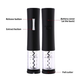 Electric Wine Opener Fast Safe Automatic Bottle Opener Foil Cutter Set Kitchen Accessories Red Wine Corkscrew Cork Tool for Home