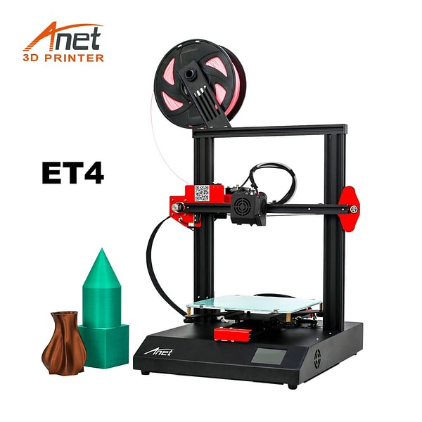 New Updated Anet ET4 All Metal Intergrated 3D Printer With Auto Self-Leveling Sensor Impressora 3D Printer Support Open source
