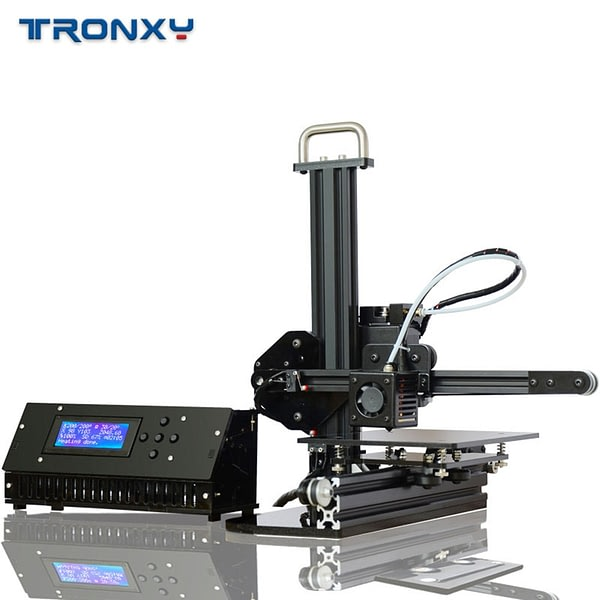 Tronxy X1 3D Printer Pulley Version Linear Guide Support SD Card Off-line Printing LCD Display High Precision 0.1 - 0.4mm New