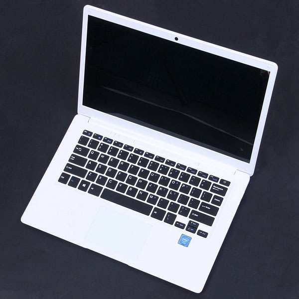 14.1 inch Hd Lightweight and Ultra-Thin 2+32G Lapbook Laptop Z8350 64-Bit Quad Core 1.92Ghz Windows 10 2Mp Camera(White) U