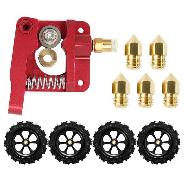 Creality Ender 3 Upgrade Drive Kitt + 4X Leveling Nuts + 5X 0.4mm Nozzls For Ender 3 Pro