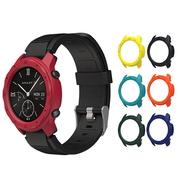 Bakeey Watch Protector PC Colorful Watch Case for Amazfit GTR 42MM Smart Watch