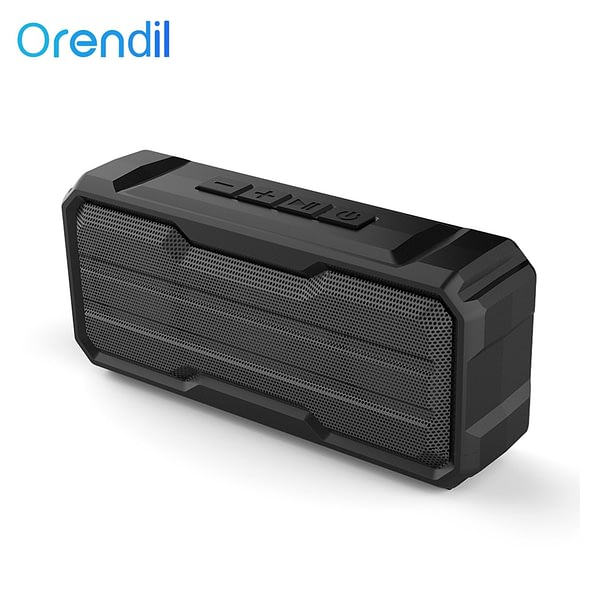 Orendil OBS503 Portable Bluetooth Wireless Speaker Better Bass 15-Hour Playtime 66ft Bluetooth Range IPX4 Water Resistance